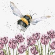 Wrendale Flight of The Bumblebee Greeting Card